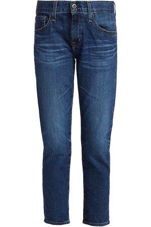 AG Jeans Women's Ex-Boyfriend Mid-Rise Slim-Fit Jeans - - Size 32 (12)