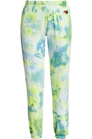 AVIATOR NATION Women's Tie-Dye Sweatpants - - Size Large