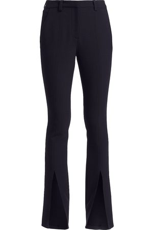 A.L.C. Women's Slim-Fit Conway Straight-Leg Front Slit Pants - - Size 14