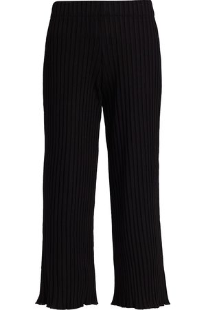 Rib by Simon Miller Women's Alder Ribbed Cropped Pants - - Size Small