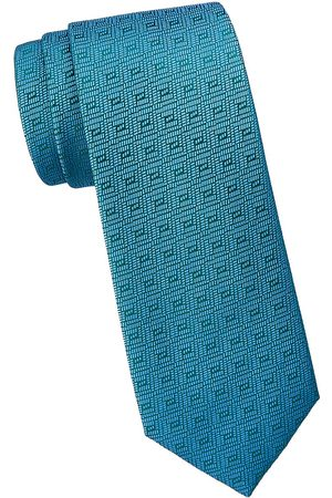 Charvet Men Neckties - Men's Illusion Diamond Silk Tie