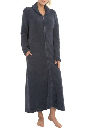 Barefoot Dreams Women's The CozyChic Zip Robe - Pacific - Size Small