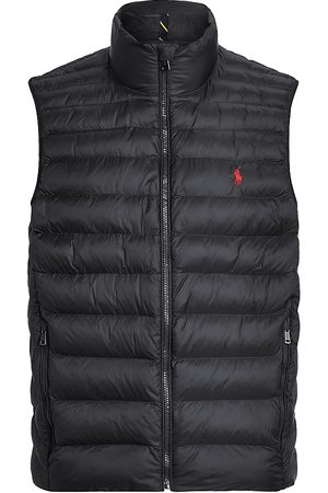 Polo Ralph Lauren Men's Terra Packable Rain-Repellent Puffer Vest - - Size Small