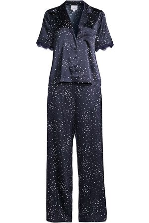 CAMI Women's 2-Piece Silk-Blend Pajama Set - - Size XL