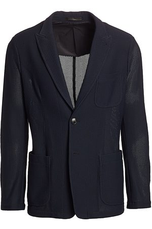Armani Men's Textured Wool Sport Jacket - - Size 54 (44) R