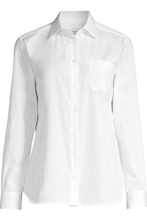 Max Mara Women's Arpa Cotton Dress Shirt - - Size 12