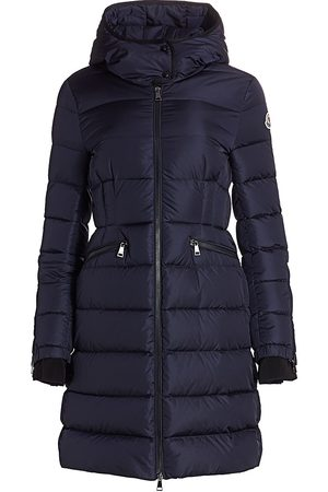 Moncler Women's Betulong Zip-Sleeve Nylon Parka - - Size 2 (Medium)