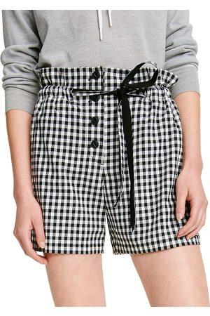 RAG&BONE Women's Camille Gingham Shorts - - Size 12