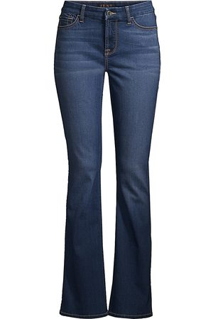7 for all Mankind Women's Mid-Rise Slim-Fit Bootcut Jeans - - Size 34 (18)