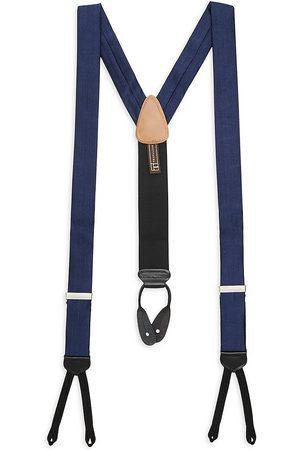 Trafalgar Men's Herringbone Silk Braces