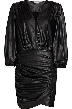 Ramy Brook Women's Ines Faux Leather Dress - - Size 6