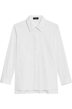 THEORY Women's Trapeze Shirt - - Size Small
