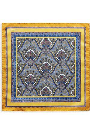Eton Men's Print Silk Pocket Square