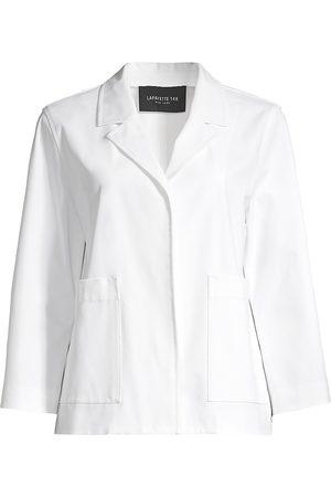 Lafayette 148 New York Women's Layken Notch Lapel Jacket - - Size Large