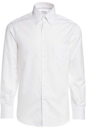 Brunello Cucinelli Men's Basic-Fit Shirt - - Size XL