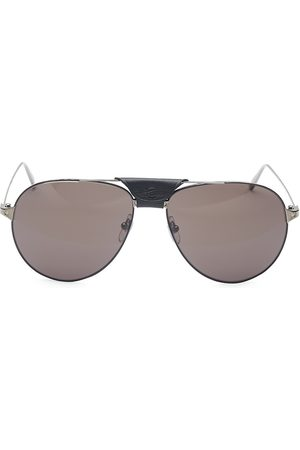 Cartier Men's Santos Aerien Aviator Sunglasses