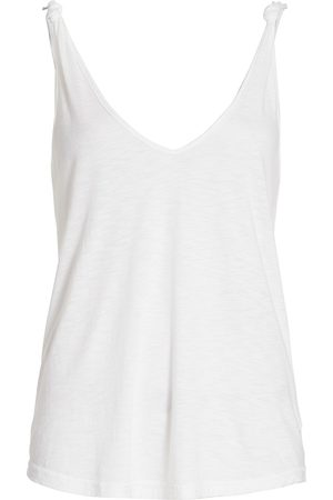 Paige Women's Rylen Knotted Tank - - Size Large