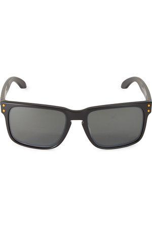 Oakley Men Square - Men's Los Angeles Chargers Holbrook 57MM Square Sunglasses