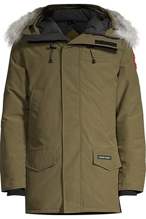 Canada Goose Men's Langford Fur-Trim Parka - - Size Small