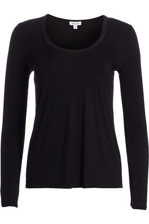 Splendid Women's V-neck Long Sleeve Tee - - Size XS