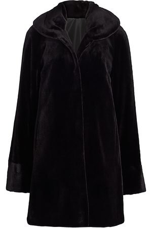 The Fur Salon Women's Reversible Sheared Mink Fur Jacket - - Size Small