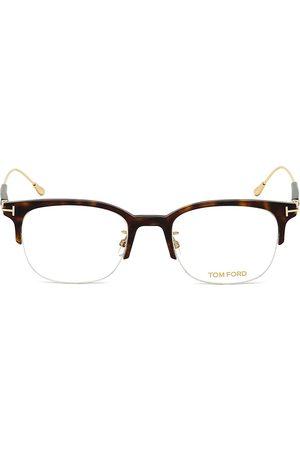 Tom Ford Men's 52MM Plastic Square Optical Glasses