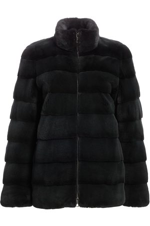 The Fur Salon Women's Bibhu Mohapatra For Horizontally Plucked Mink Jacket - - Size XS