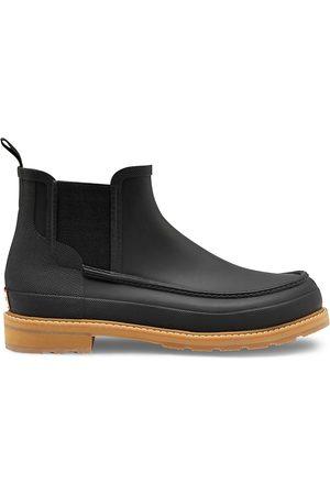 Hunter Men's Original Moc Toe Chelsea Boots - - Size 10