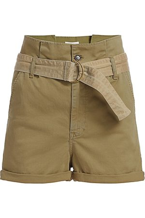 Frame Women's Safari Belted Shorts - - Size 27 (4)