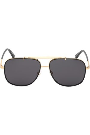 Tom Ford Men's 58MM Metal Aviator Sunglasses