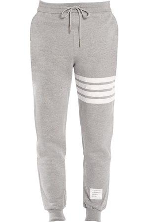 Thom Browne Men's Stripe Cotton Joggers - - Size 4 (XL)