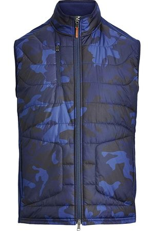 Ralph Lauren Men's Camo Stretch Terry Golf Vest - - Size XL