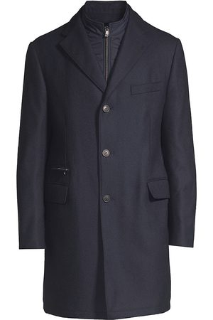 corneliani Men's Wool Overcoat - - Size 58 (48)