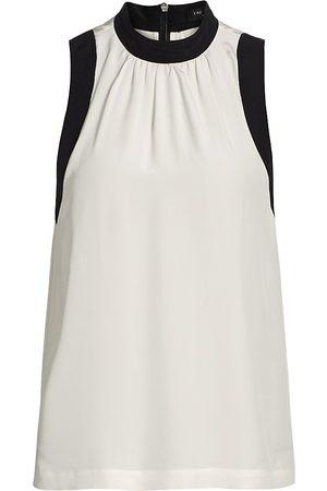 RAG&BONE Women's Tallulah Silk Sleeveless Top - - Size 6