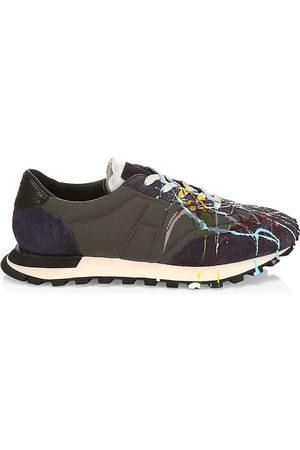 Maison Margiela Men's Replica Runner Paint Sneakers - - Size 39 (6)