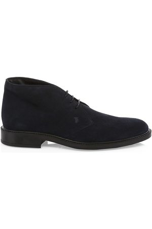 Tod's Men's Chukka Suede Boots - - Size 12 UK (13 US)
