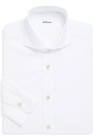 Kiton Men's Classic Cotton Dress Shirt - - Size 39 (15.5)