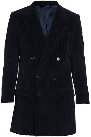 Dolce & Gabbana Men's Double Breasted Coat - - Size 46 (36) R