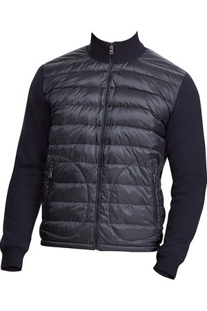 Ralph Lauren Men Accessories - Men's RLX Quilted Nylon & Wool Hybrid Jacket - - Size XXL