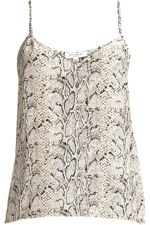 Equipment Women's Layla Snakskin Print Camisole Top - - Size XL