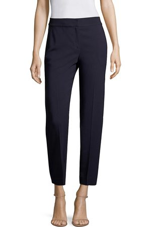ST. JOHN Women's Classic Cady Stretch Crop Trousers - - Size 12
