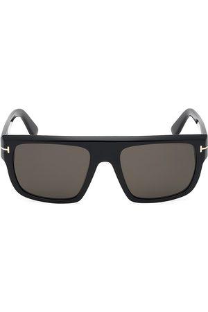 Tom Ford Men's 57MM Alessio Square Sunglasses