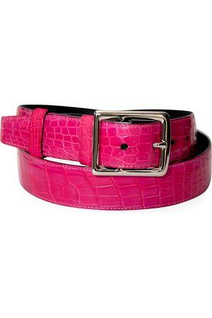 Grace Men's Genuine Crocodile Buckle Belt - - Size 46