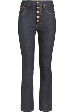 Tory Burch Women's Button Fly Bootcut Jeans - - Size 30 (8-10)