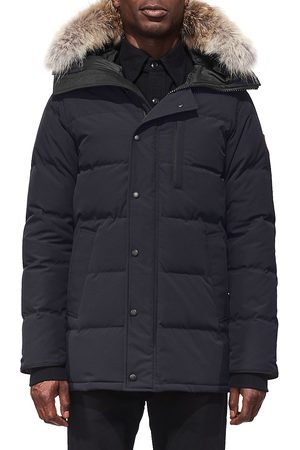Canada Goose Men's Fusion-Fit Carson Fur-Trim Parka - - Size Large