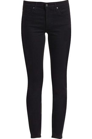 AG Jeans Women's Prima Mid-Rise Cigarette Jeans - - Size 32 (10-12)