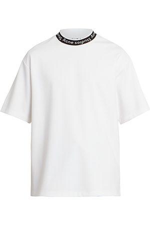 Acne Studios Men's Extorr Ribbed Logo T-Shirt - - Size XL