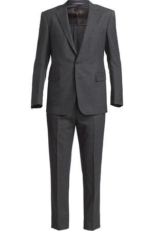 Ralph Lauren Men's RLX Gregory Wool Twill Suit - - Size 46 R