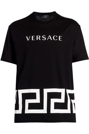 VERSACE Men's Graphic Logo Crewneck T-Shirt - - Size Small