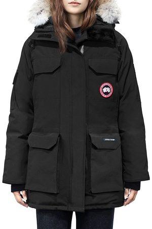 Canada Goose Women's Fur Trim Expedition Parka - - Size XL